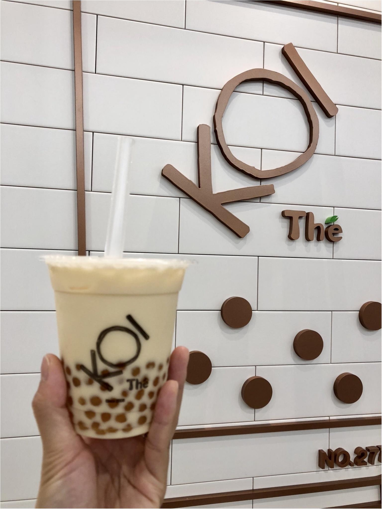 台湾で大人気のタピオカ専門店【50嵐】❤️日本で飲めるのはここだけ!_2