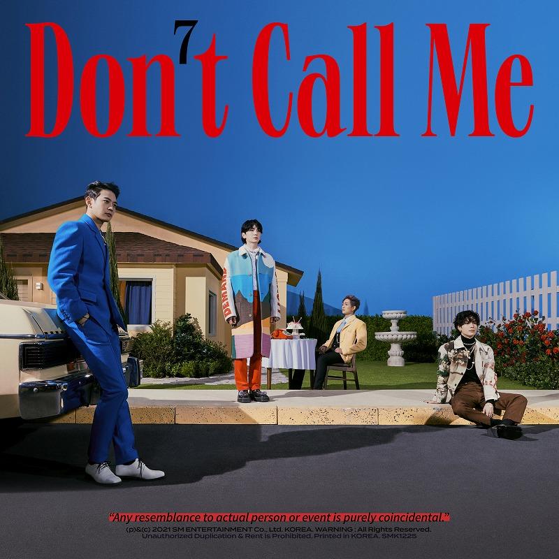 『Don't Call Me』ジャケット写真