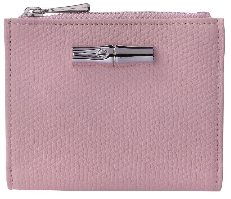 ロンシャン、ピンク色の財布