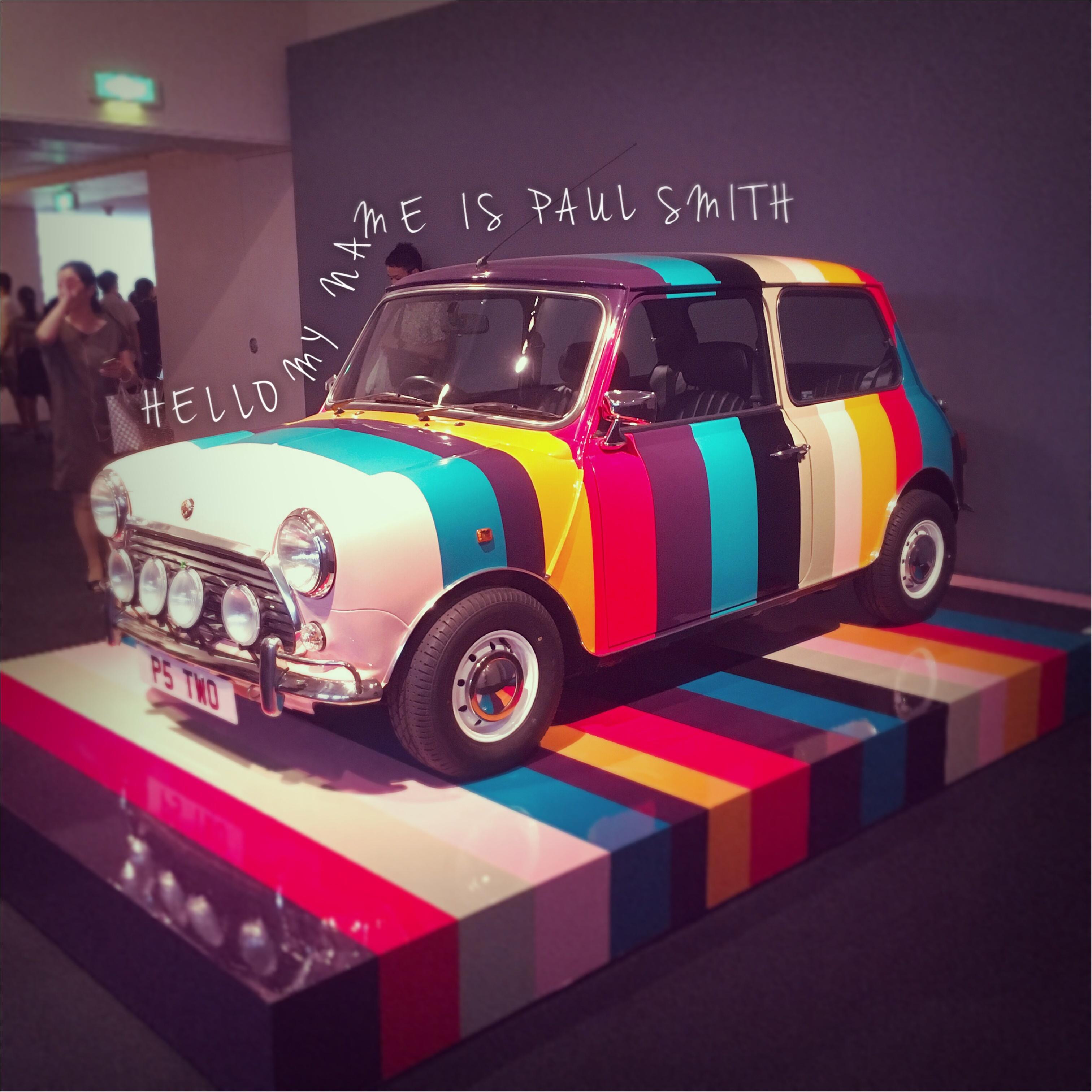 《この夏、絶対に行って欲しいポール・スミス展》その理由と誰でももらえる来場者限定の豪華お土産まで♡_2