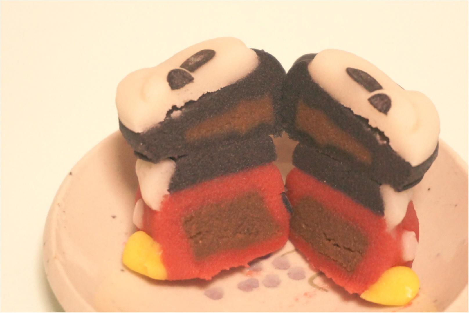 【3日間限定‼︎】ミッキーとミニーが可愛い和菓子に大変身( ´艸`)♡セブンで3日間だけ限定発売✨_3