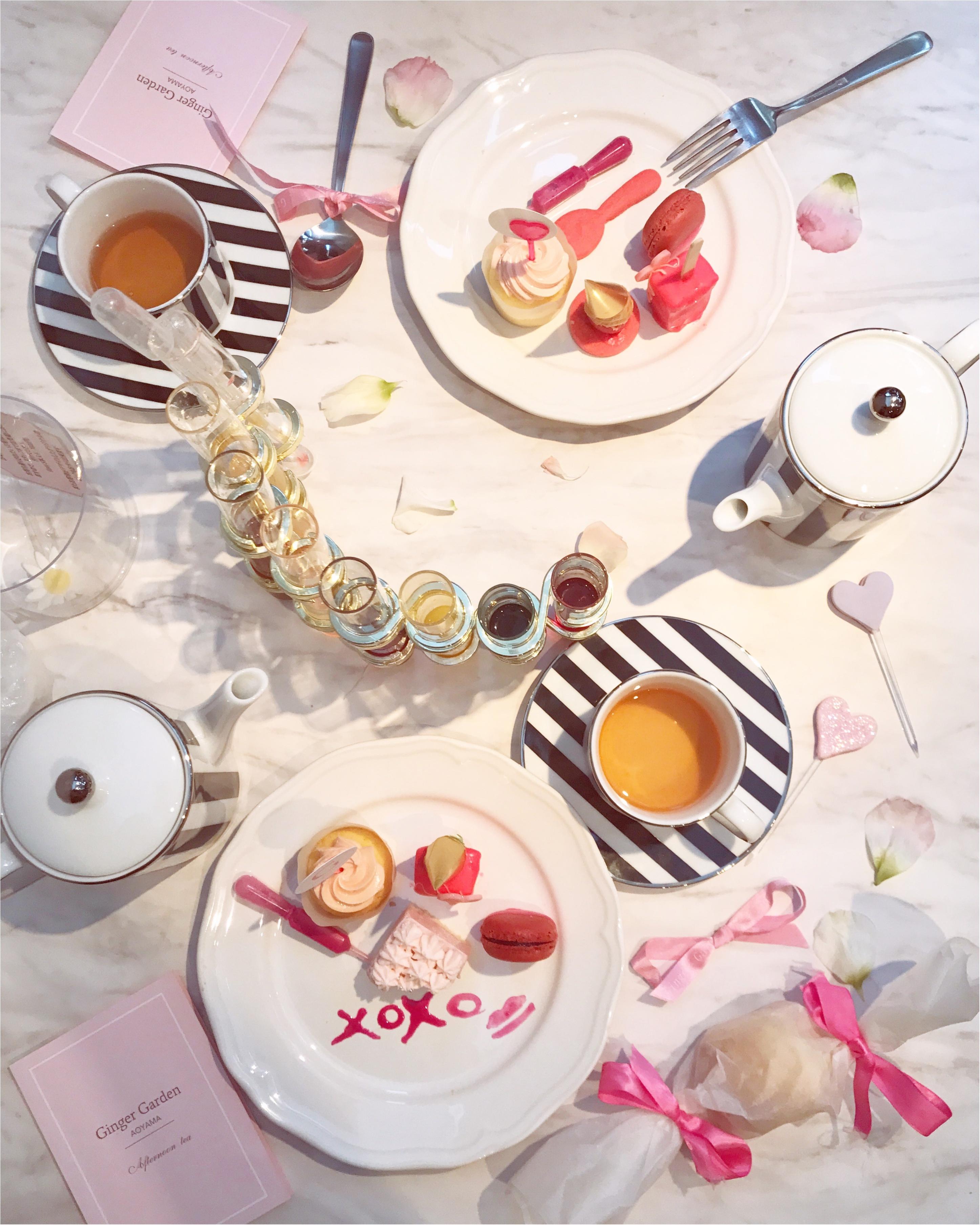 【FOOD】今1番可愛い#アフタヌーンティー はここ♡女子会にぴったり⋈ #GingergardenAOYAMA_10
