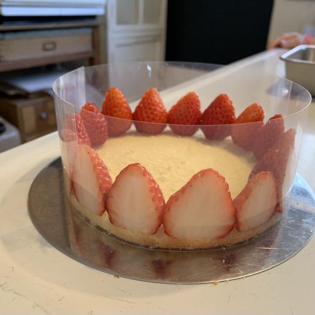 【手作りケーキ】本格的な『フレジェ』作り♡初心者でもお店のような仕上がりに…?!♡_6