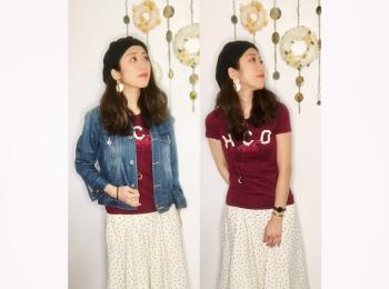 【オンナノコの休日ファッション】2020.6.29【うたうゆきこ】
