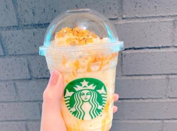 【スタバ新作】一般発売前の『焼き芋フラペチーノ』は蜜芋感あふれる秋の味♡