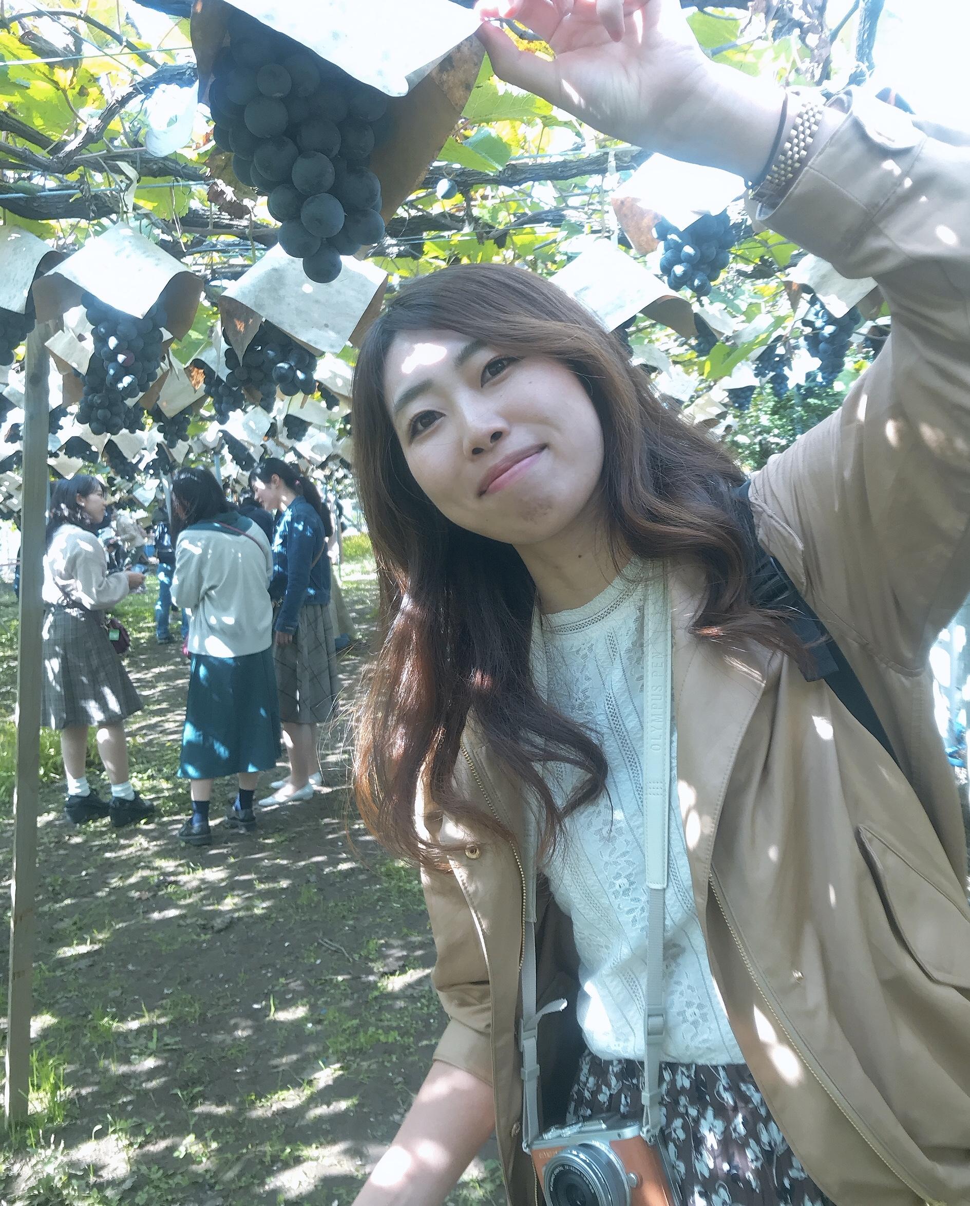 【バスツアー】紅葉の特等席♡清里テラス ぶどう狩り Part ①_5