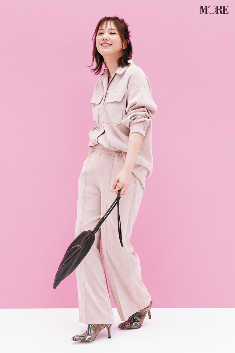 """本田翼が着こなしのお手本! この秋のピンクは""""大人っぽくて可愛い""""から、いいことしかない♡ PhotoGallery_1_1"""