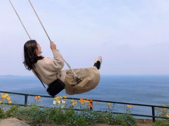 いま注目の熱海! 海の見えるブランコはインスタ映えスポット♡ 【 #TOKYOPANDA のご当地モア・静岡県熱海編】