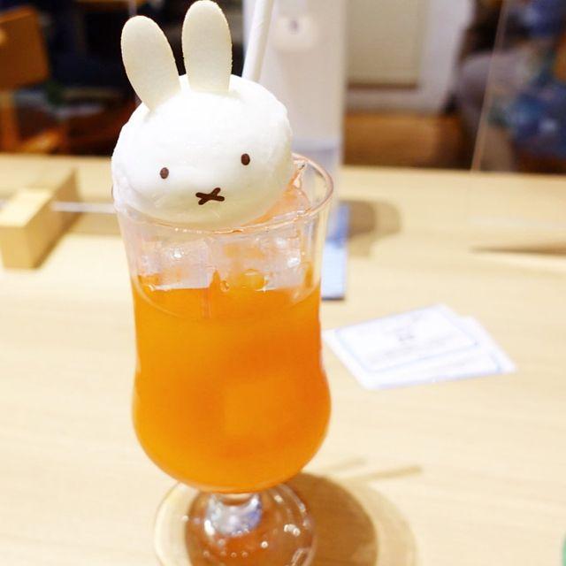 大阪あべのキューズモール内 に限定オープン中の「ミッフィーカフェ」ドリンクメニュー