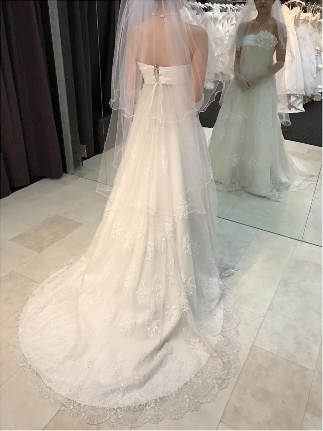 ドレス試着レポ♡4種のデザインで印象はかなり変わる!_4