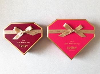 【2019バレンタイン】ダイヤモンドのようなチョコ《DelReY》が気になる♡