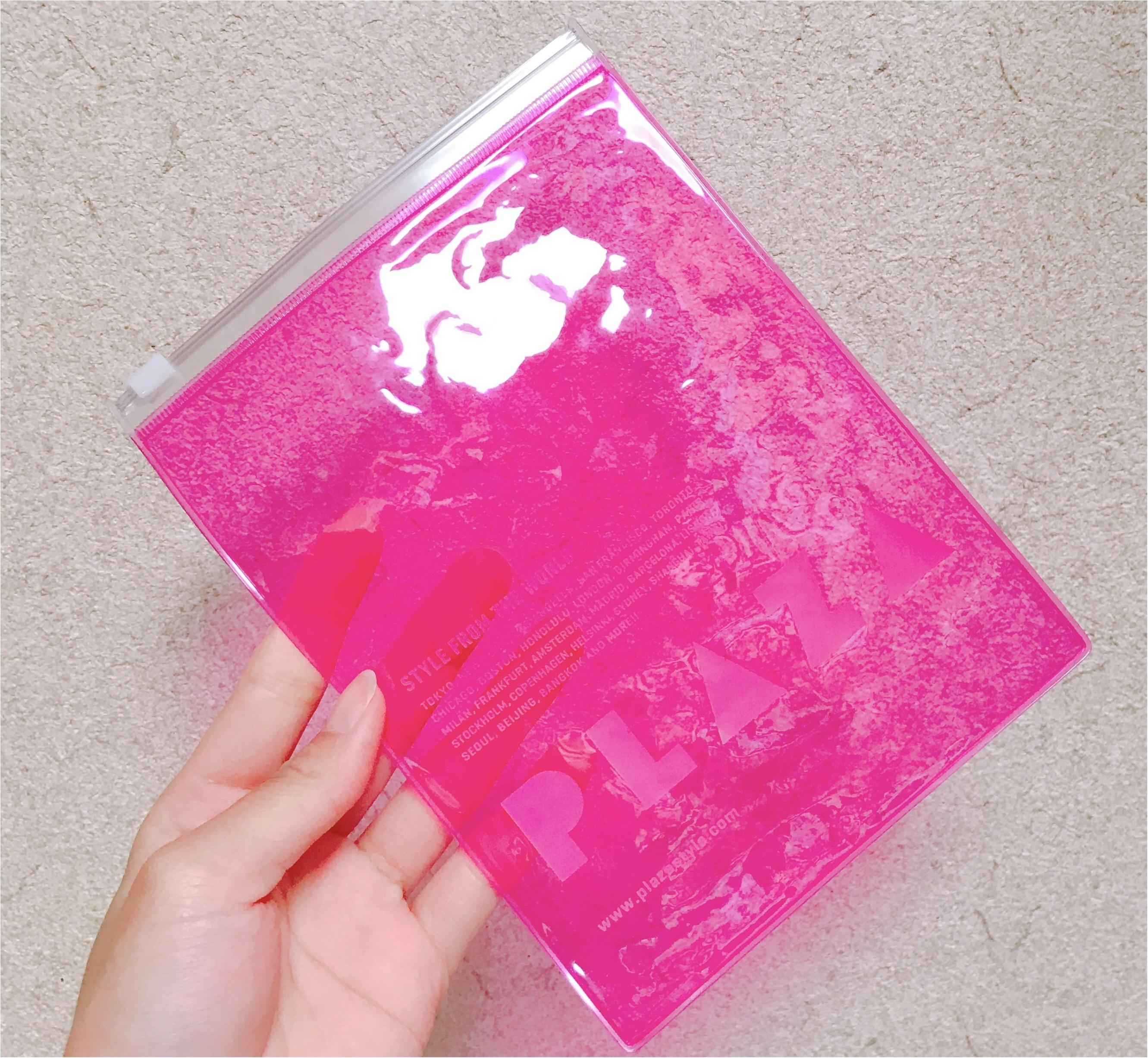 《JUST PINK IT!》この春は『ピンク』に囲まれたい♪【PLAZA】のピンク特集で限定の〇〇〇をGET♡_7
