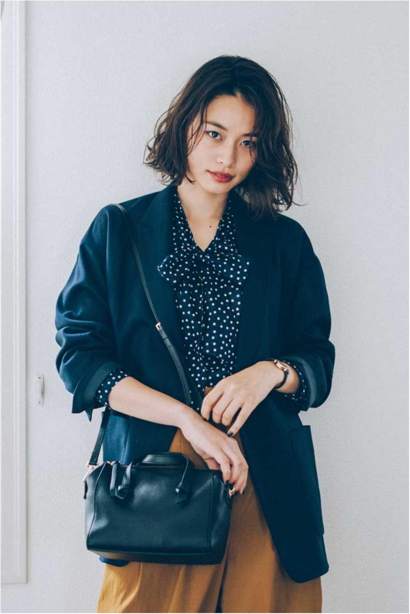お仕事ガールのバッグは「可愛い・使える・毎日持てる」4