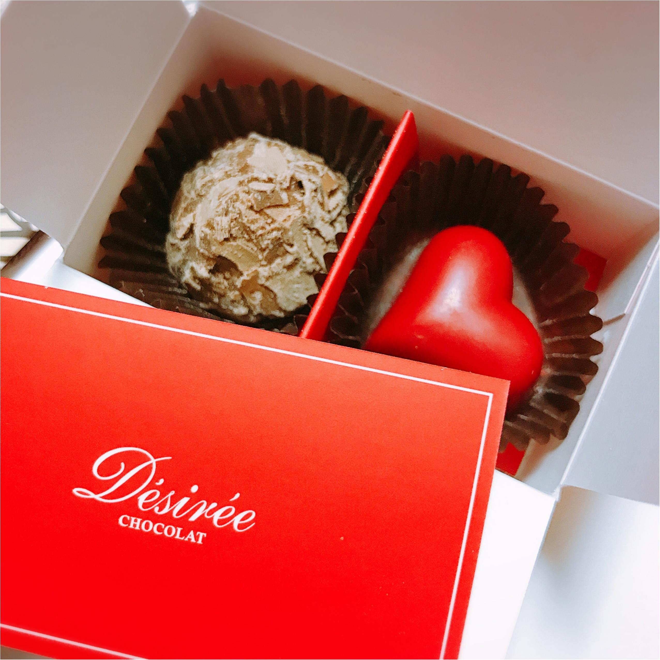 《友チョコ》もうすぐバレンタイン♡可愛くっておいしい【Desiree(デジレー )】のトリュフをいただきました!_2