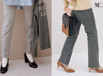 ストレートデニムはグレーに着替えて正解。フレンチシックな秋の5本はこれ!PhotoGallery