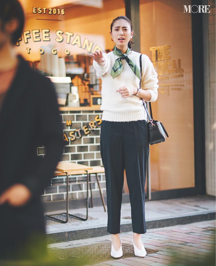 「え、私そんなつもりは……!」土屋巴瑞季&鈴木友菜 着回し連載『グレーとネイビーなふたり』16日目_2