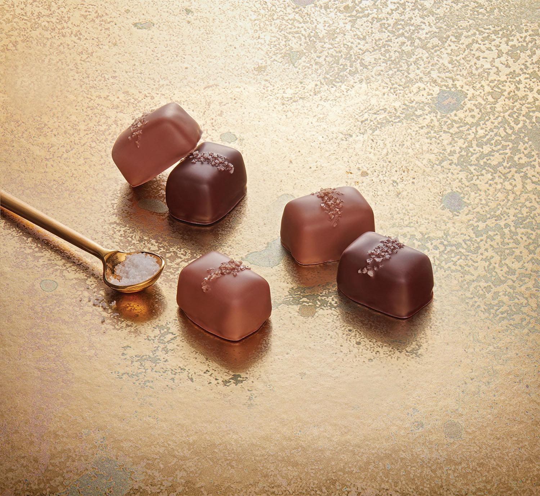『フランズ チョコレート』のシグネチャー商品「ソルトキャラメル」