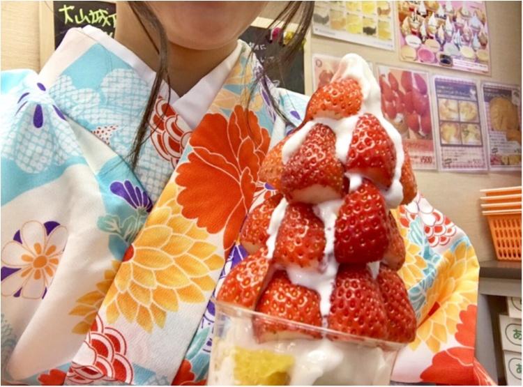 【FOOD】 まだまだ苺に夢中です♡買わずにはいられない!盛りパフェ苺があるのはココッ♡!_5