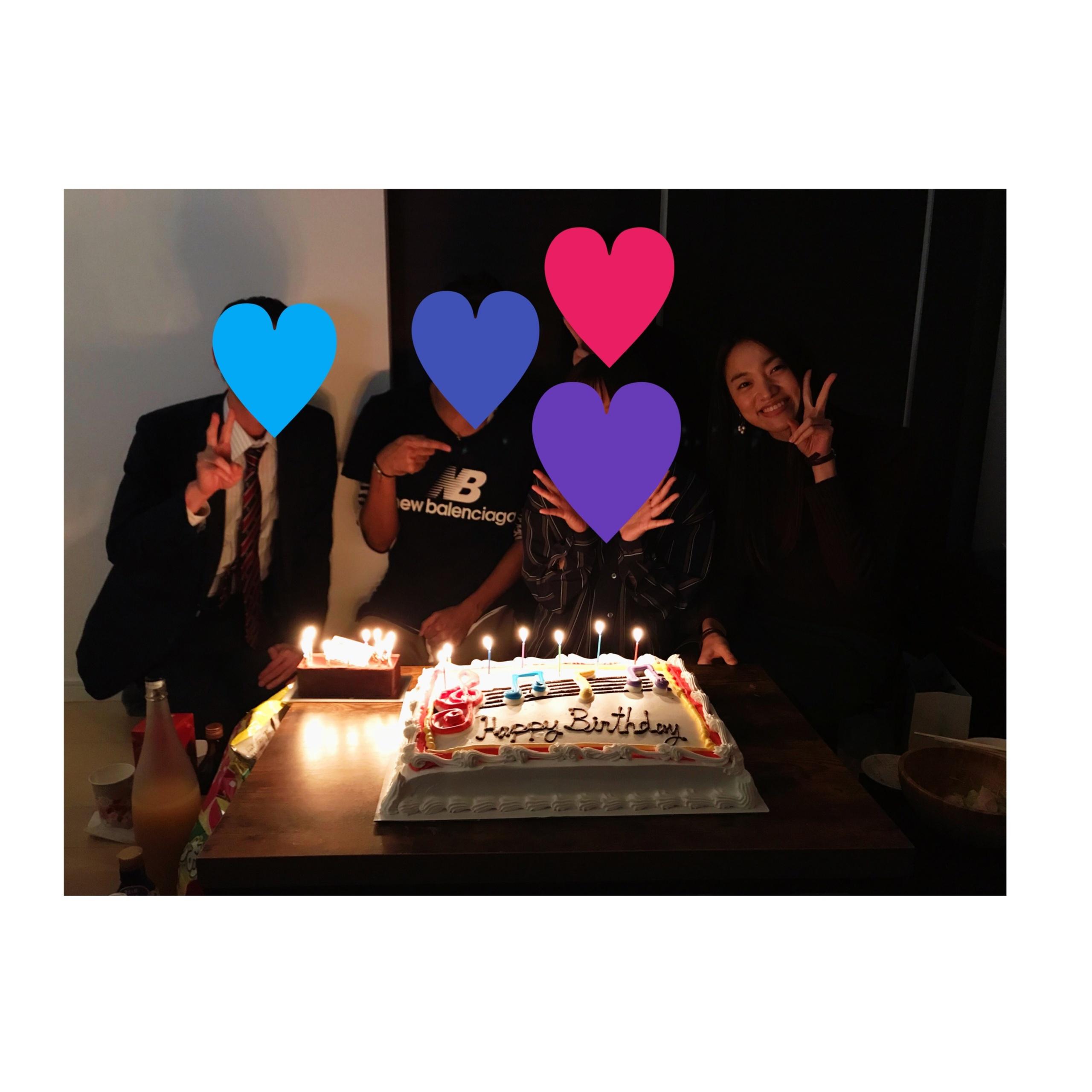《インパクト大!★》【コストコ】の特大ケーキで誕生日のお祝いをしました❤️_2