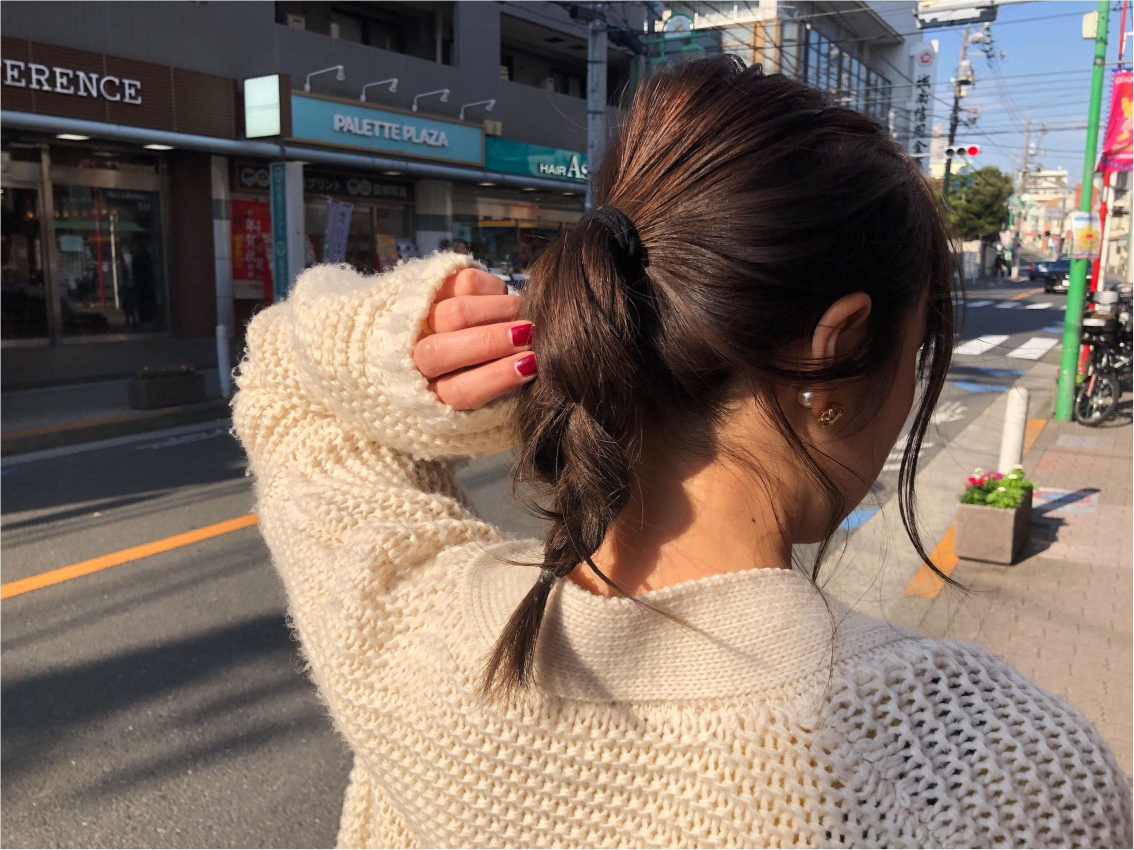《アヤサンポ》休日メインのコーディネート!こなれて見えるヘアスタイルも★_2