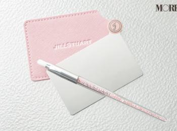 MORE2月号通常版の付録は「JILLSTUART × MORE」のカードミラー&ジュエルブラシ!