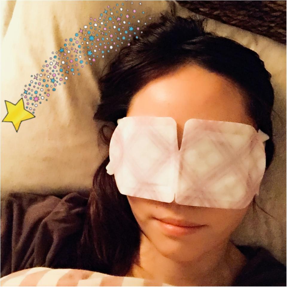 …ஐ  めぐり〜ズ〜ムっ♪♪でデスクワークの疲労や寝付きの悪い方へホットアイマスクで快眠しよう‧⁺✧︎*ஐ¨_5