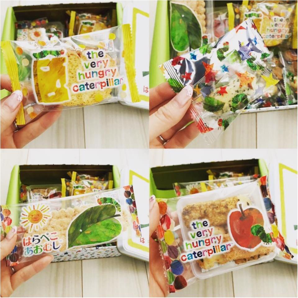 【お祝いごとに】はらぺこあおむしのお菓子アソートがかわいい!_2