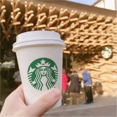 【 日本の珍しいスタバに行きたい♪ 】 芸術的な木のデザインが美しい♡ 大宰府天満宮のスターバックス♡♡