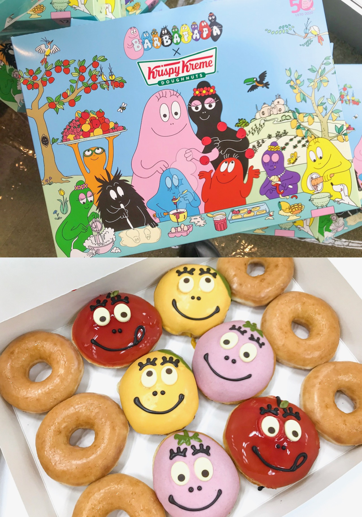 『クリスピー・クリーム・ドーナツ』の期間限定ドーナツに、バーバパパコラボが登場。可愛くてフルーティーな味わいにきゅん♡ PhotoGallery_1_3
