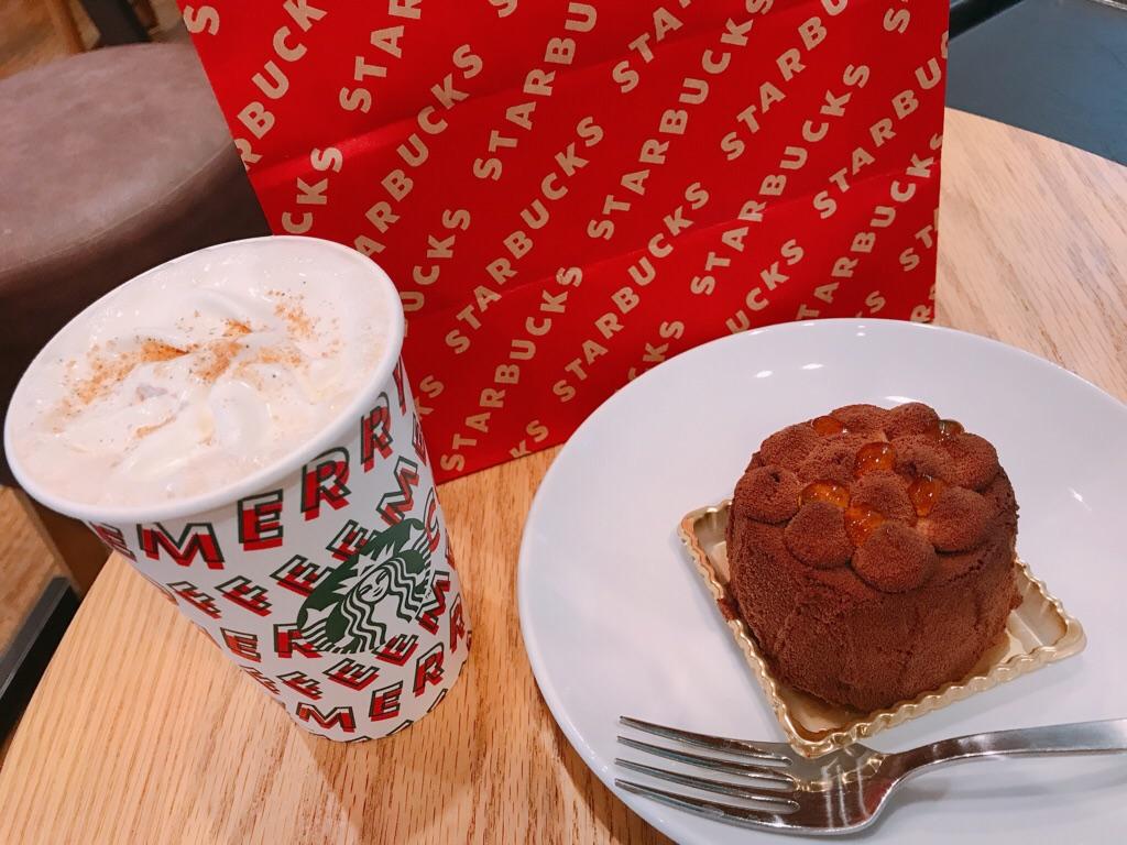 【スタバ】絶対食べて!新作クリスマスフード《ショコラディスカバリー》が絶品♡_1