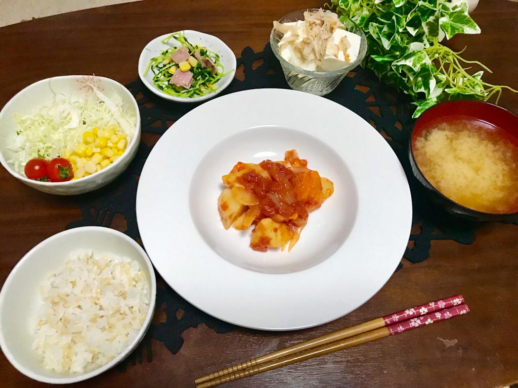 【今月のお家ごはん】アラサー女子の食卓!作り置きおかずでラクチン晩ご飯♡-Vol.3-_3