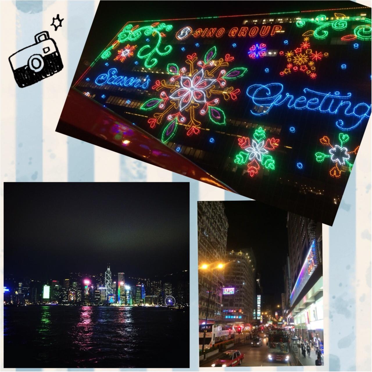 【vacation】HONG KONGのイルミネーションとオススメ地元スウィーツ店♡_2