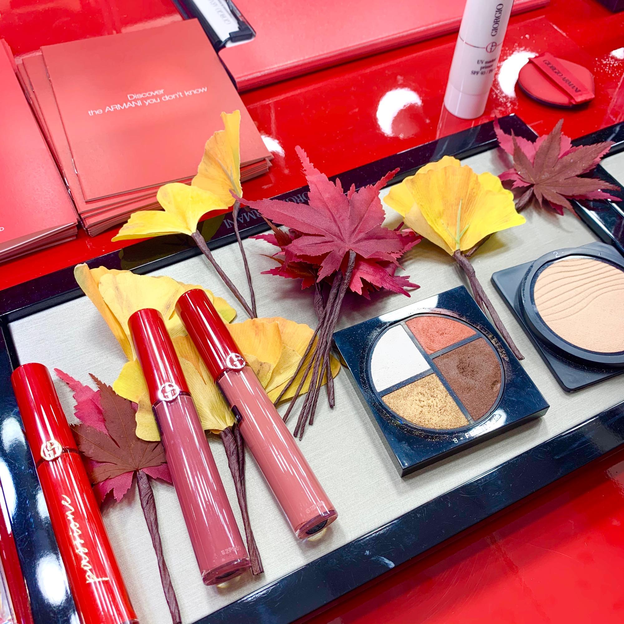 《豪華お土産付き❤️》【Armani Beauty KOYO】で秋メイクを体験してきました☻_6