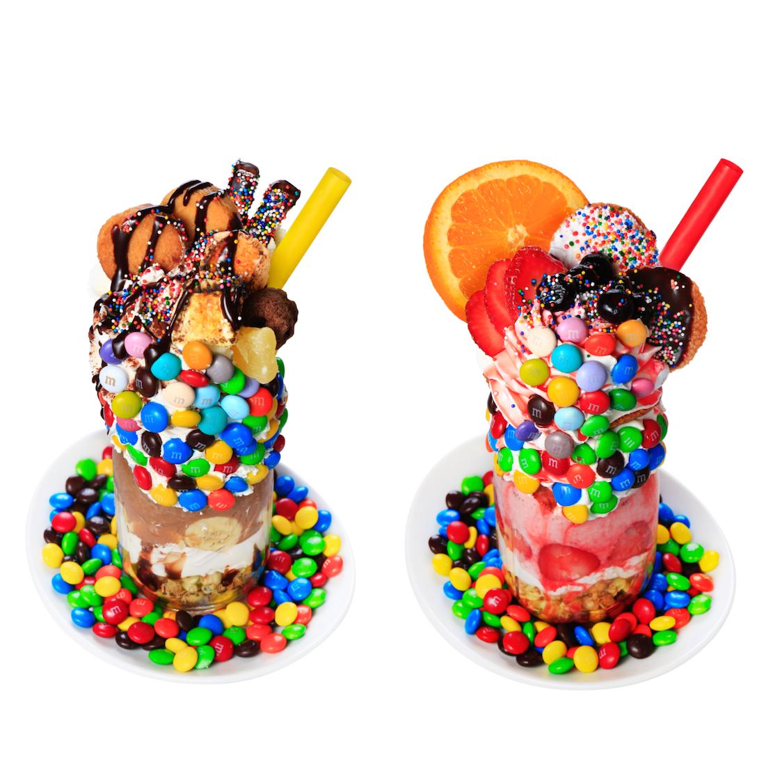 『M&M'S』のチョコ山盛りパフェが超フォトジェニック♡ NYでトレンドの「カラフルパフェ」が原宿で! _1