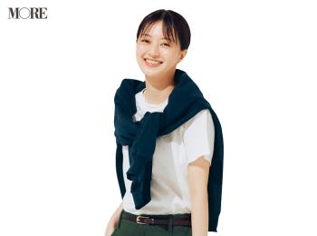【今日のコーデ】<逢沢りな>白Tシャツが似合う季節!大人のアメカジコーデを満喫して
