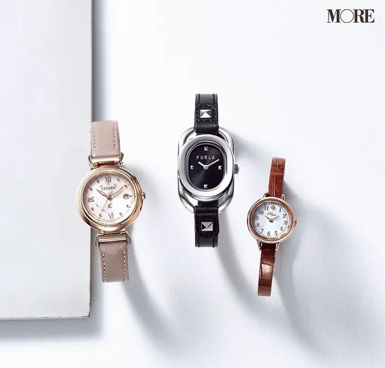レザーベルトの腕時計