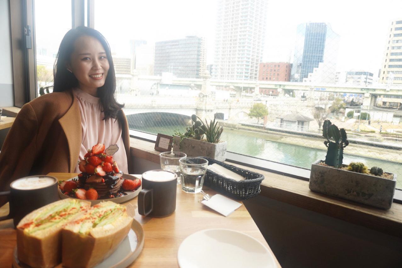 【おすすめいちごスイーツ】NORTHSHORE CAFE&DINING北浜でいちごのパンケーキ❤︎_6