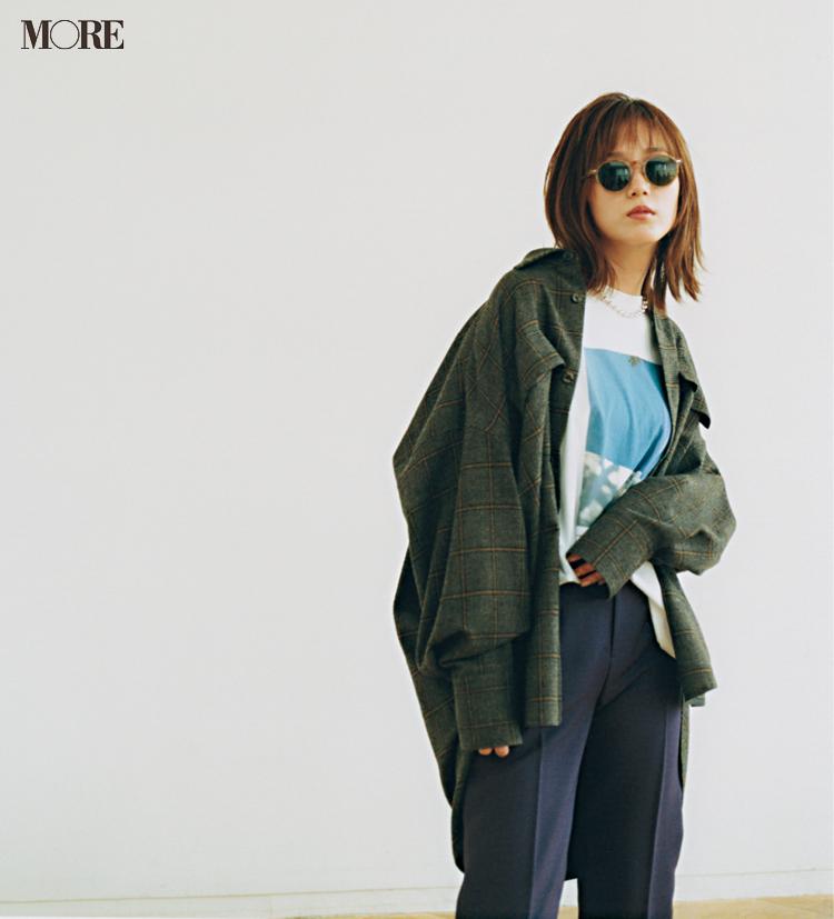 ジャケットコーデ特集《2019秋》- トレンドのブラウンやチェック柄など、20代におすすめのレディースコーデ_7