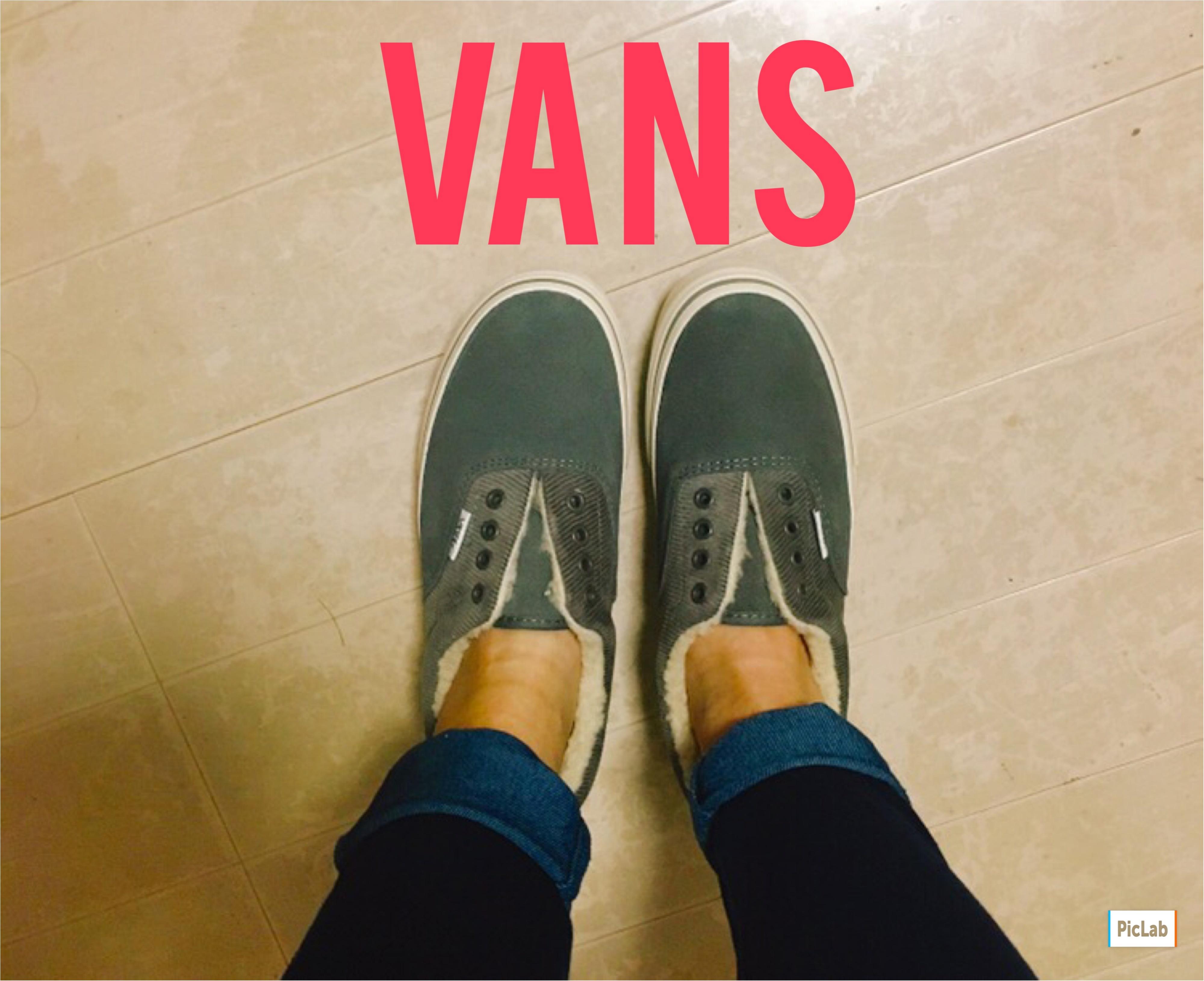 《一度履いたらやみつき♡》VANSのボアスニーカーが可愛い上に足元ぬくぬく♡_3