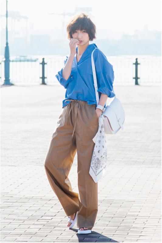 【2月に買って4月までずっと着る!】篠田麻里子のパンツ着まわし×3_1