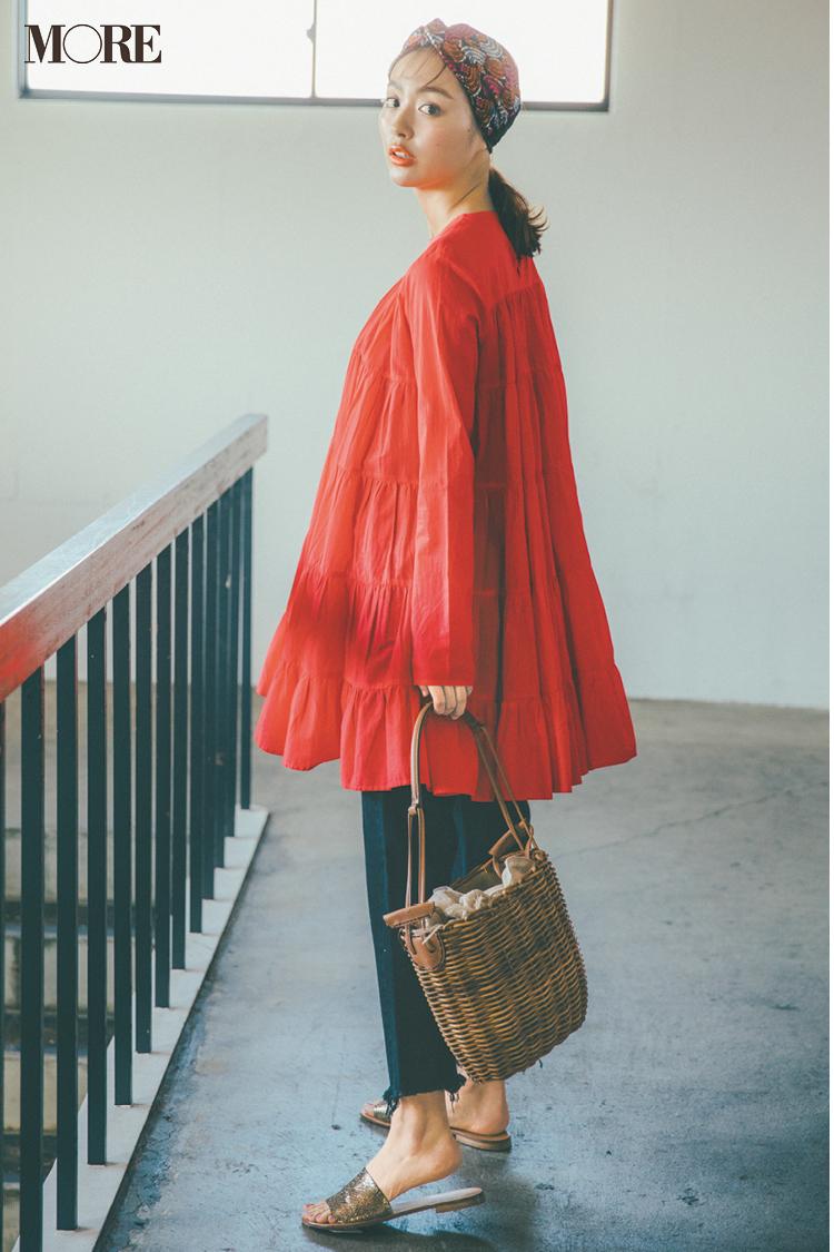 夏のトレンドバッグ特集《2019年版》- PVCバッグやかごバッグなど夏に人気のバッグまとめ_12