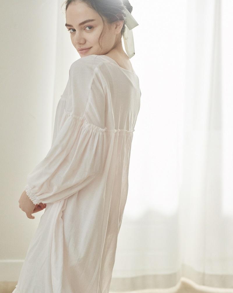 ジェラートピケ、春の新作コレクション。ドレス