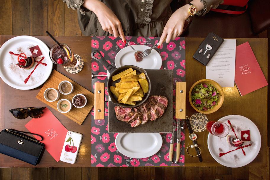 【9/14(木)〜24(日)限定!】 『ケイト・スペード』が神楽坂のレストラン『SACREE FLEUR』にて、かわいすぎるスペシャルコースを発売♡_1