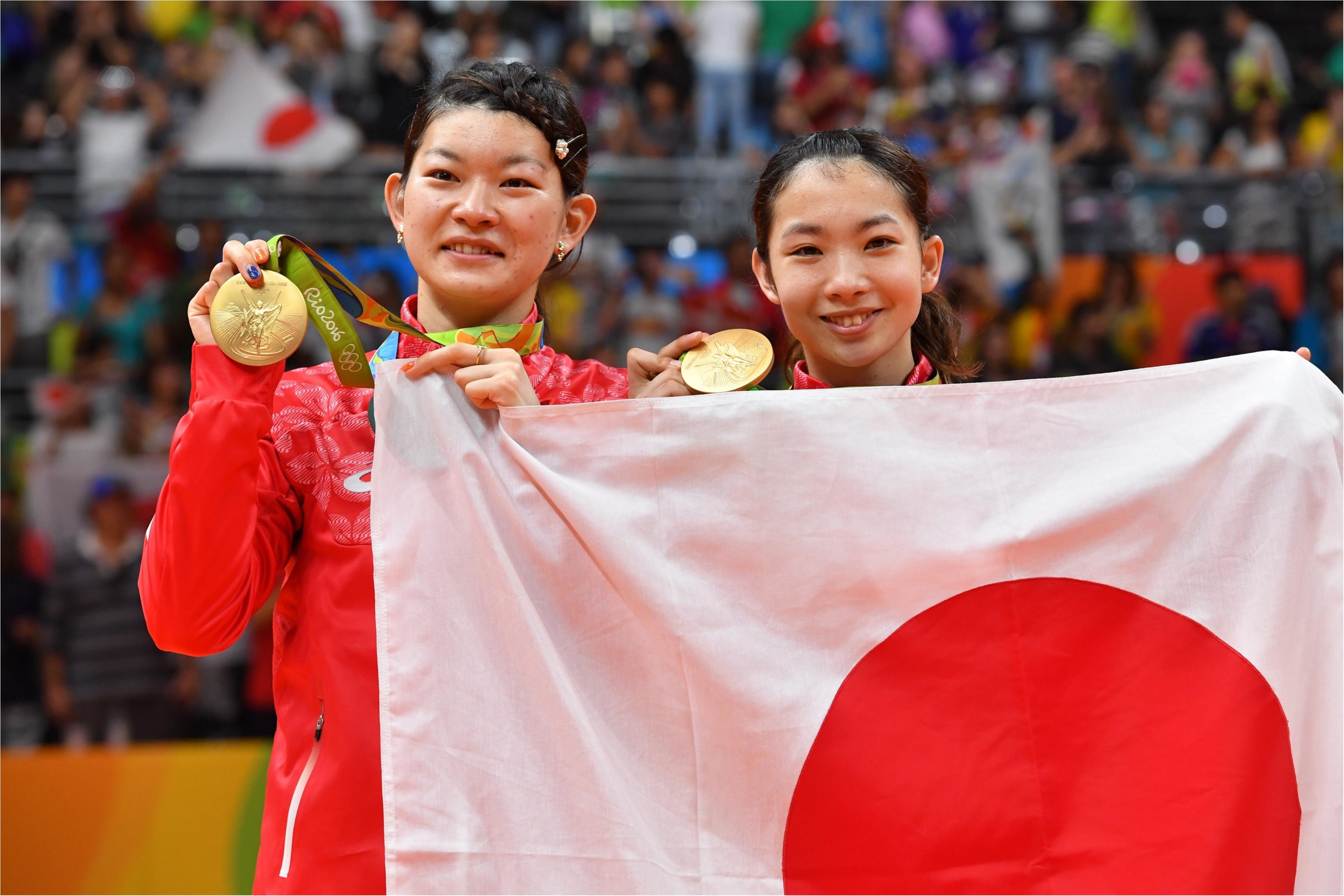 タカマツペア金メダルおめでとう!! 生で観た日本バドミントン史上初の瞬間と、本当に重かった金メダル!_1