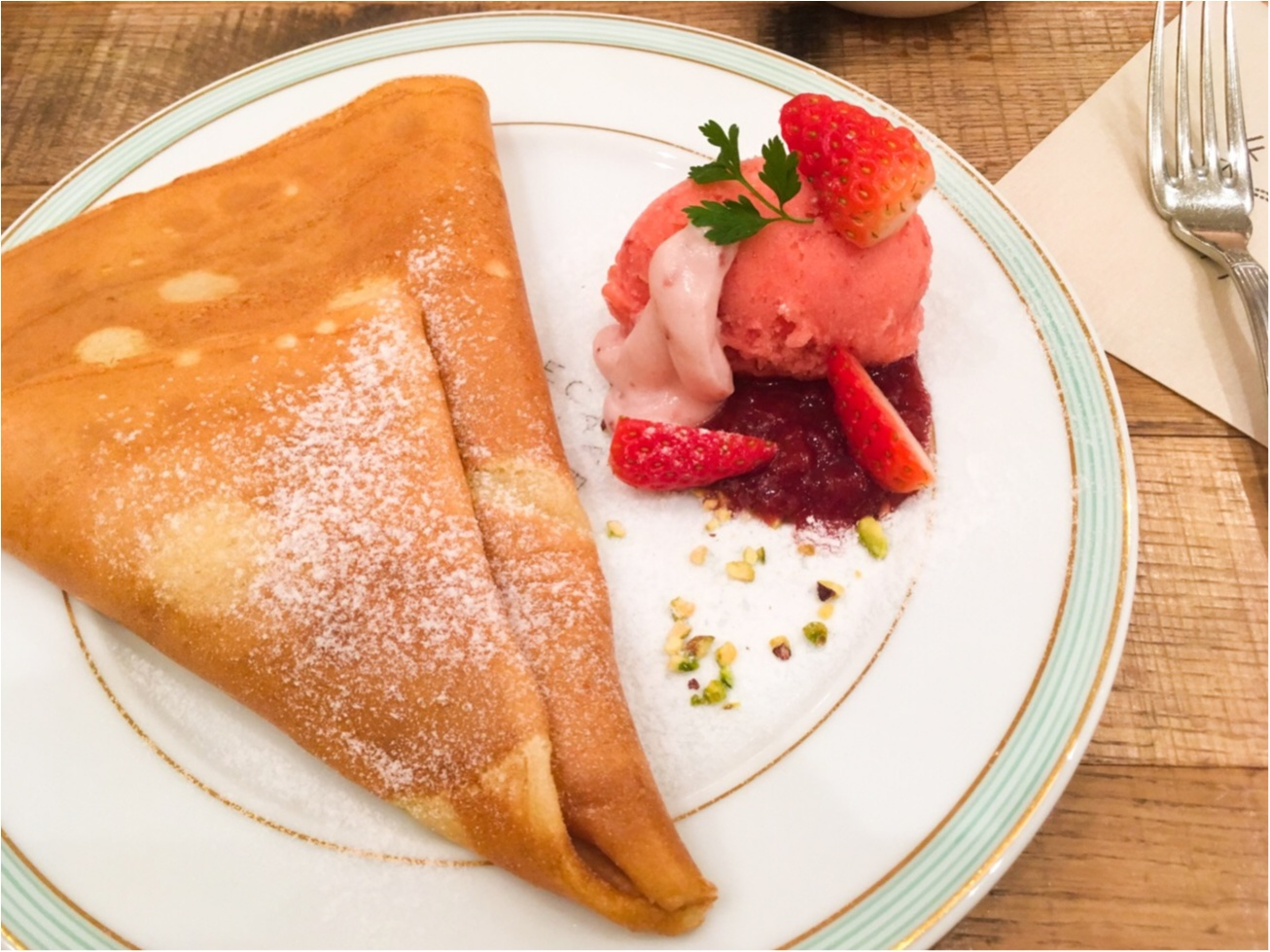 《イチゴ好き必見❁期間限定デザート》 大人気ジェラートピケのカフェが出す絶品!イチゴづくしの大人デザートとは?!_2