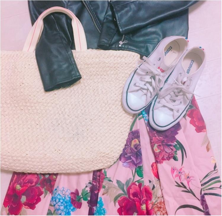 《いま、ザラ(ZARA)女が増えているっ♡!》今年初の春物は売り切れ続出のお花咲きめくミモレスカート♡!_2
