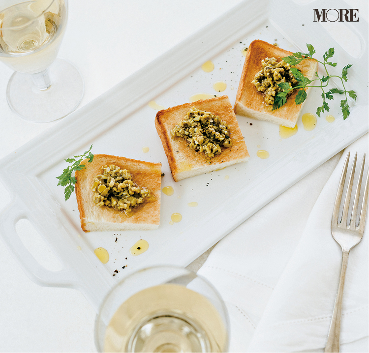 『カルディコーヒーファーム』のザク切りオリーブ、『デドゥー』のジェノヴェーゼなど、ワインに合う食パンのおとも3選♡_1