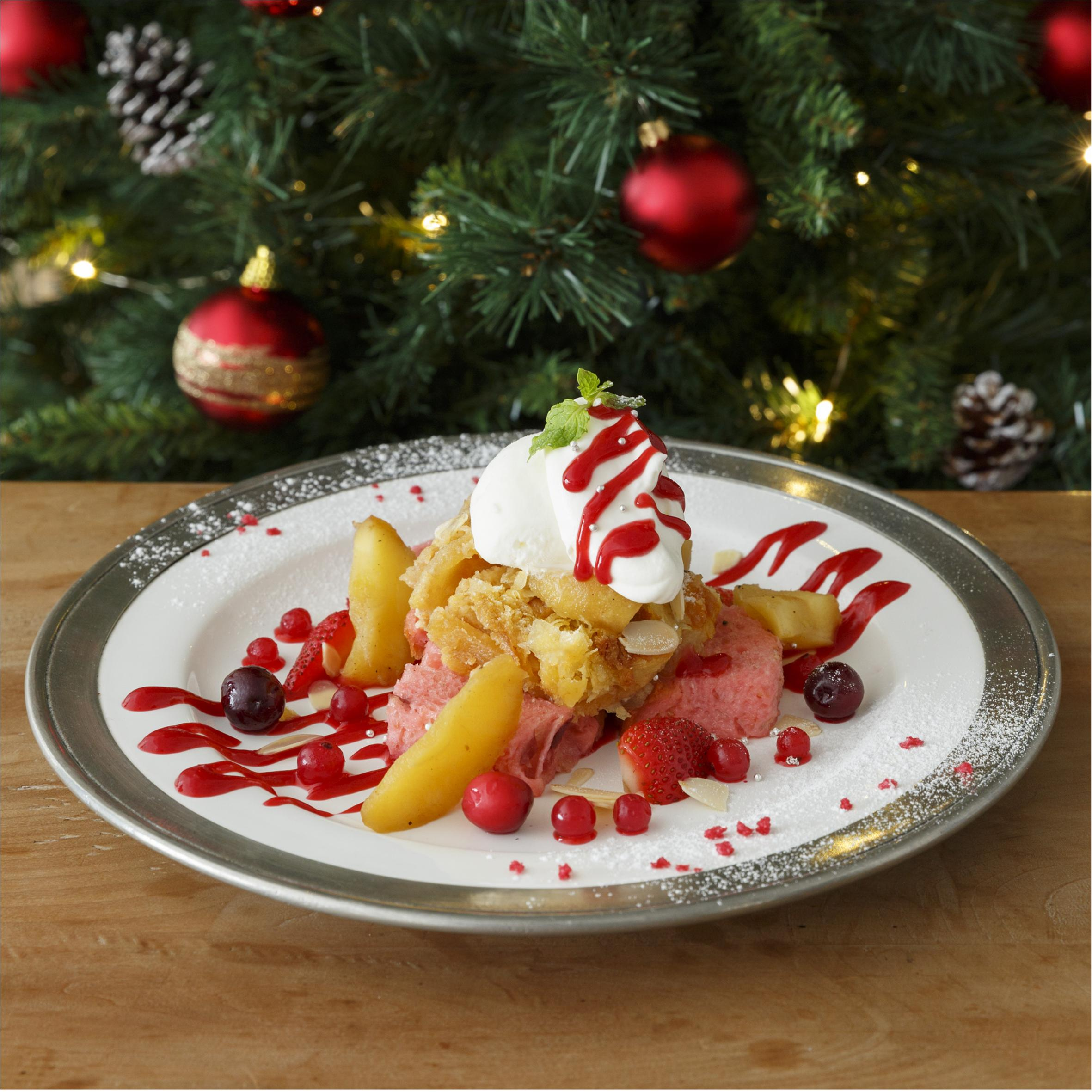 『アフタヌーンティー・ティールーム』のクリスマスはりんごがいっぱい♡_1