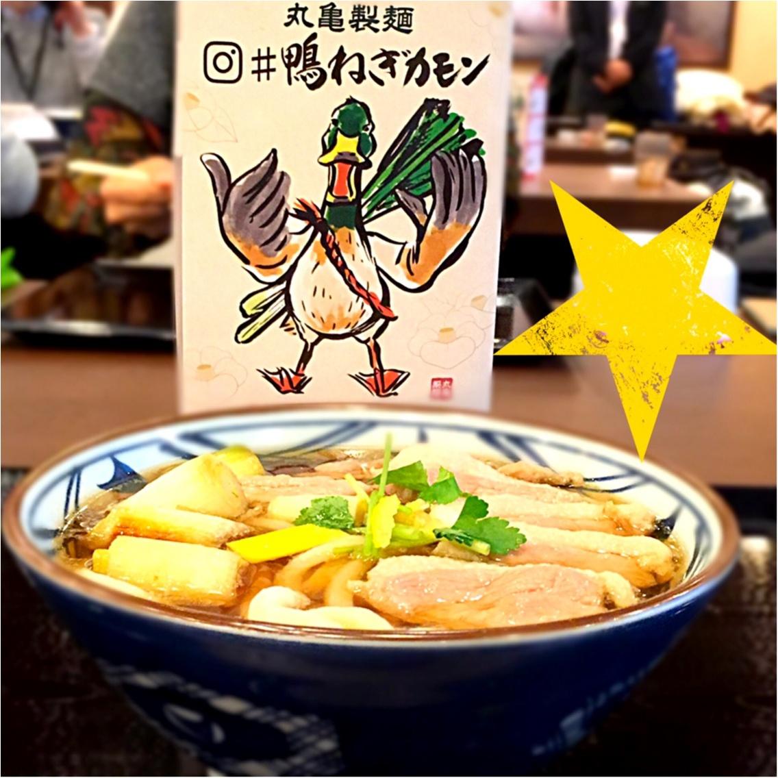 今日から期間限定☆丸亀製麺の新商品は◯肉を使ったうどん♪_9