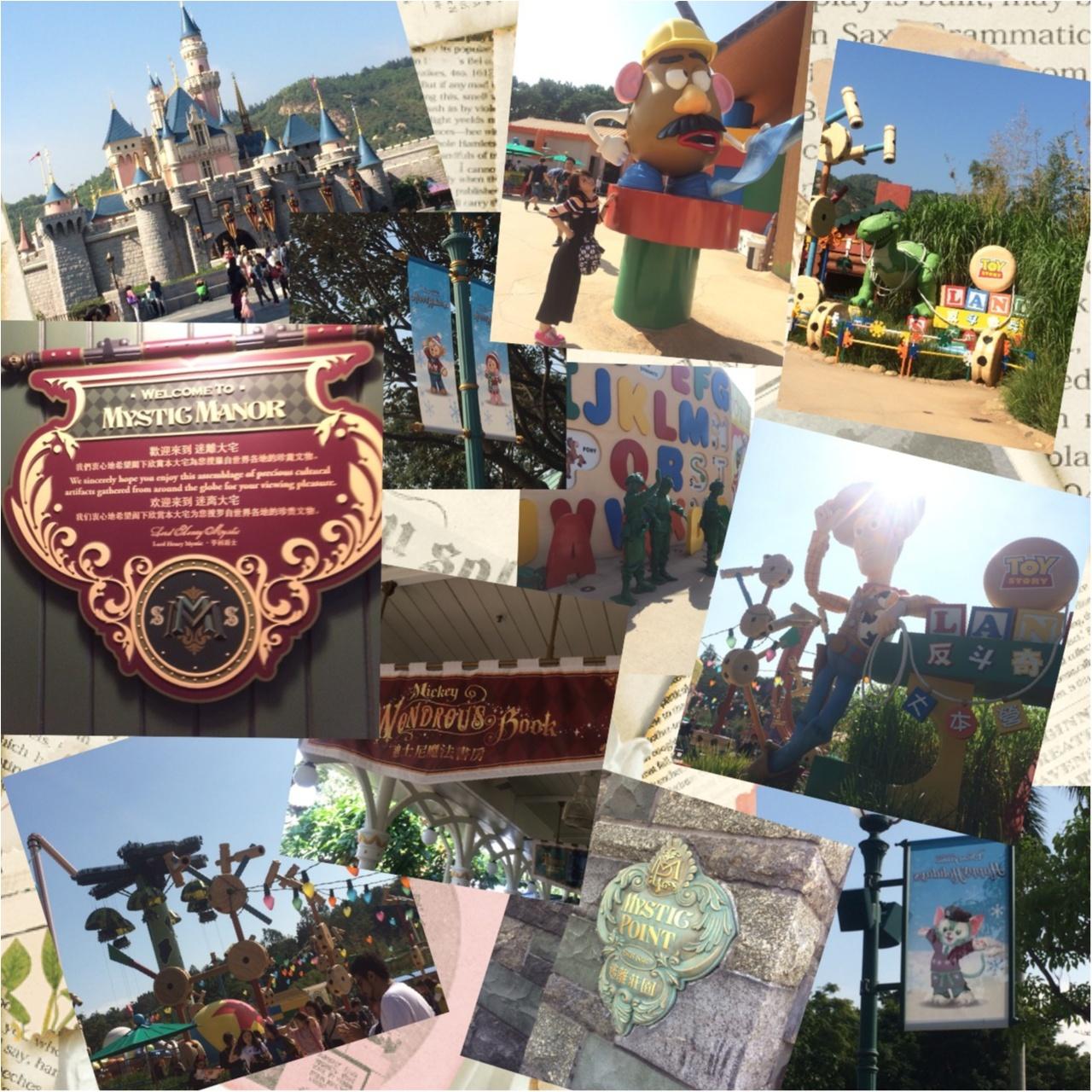 【vacation】グリーティング天国?!日本にはないものがたくさん!♡香港ディズニーランドを2倍楽しむ!おすすめポイント♡_10